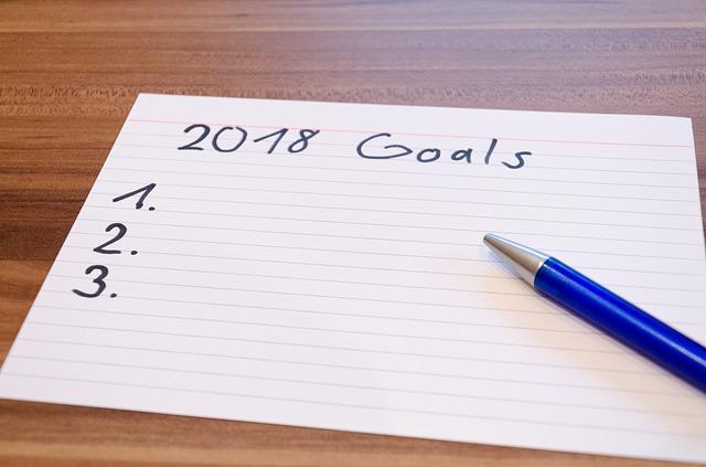 skincare resolutions, 2018 goals