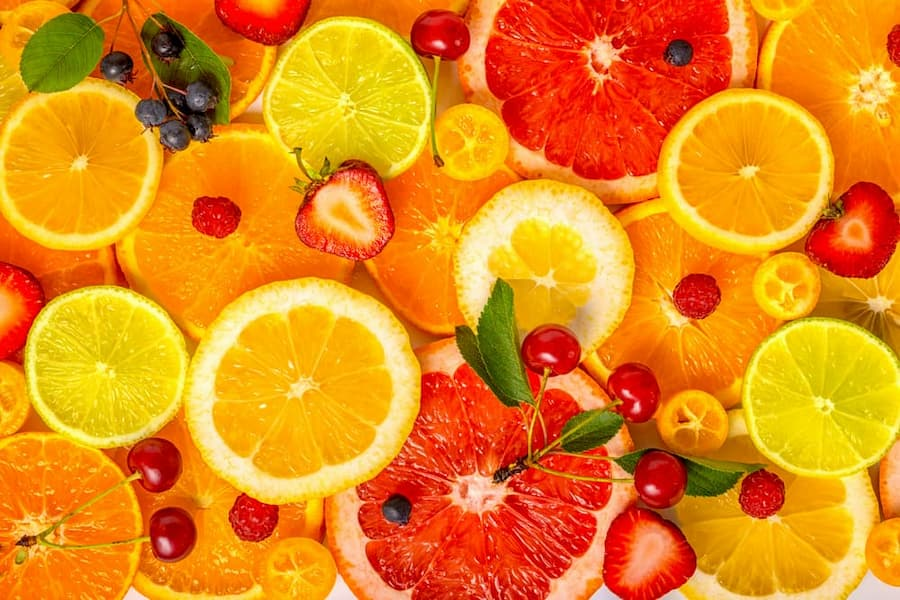 rosacea diet, citrus fruit, histamine